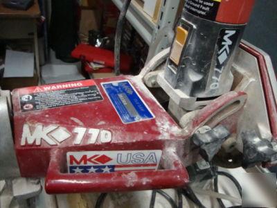 Mk Diamond 770 Tile Saw