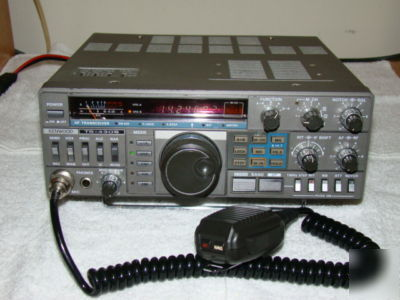 Kenwood ts-430S all mode 100W hf transceiver w/mars cap