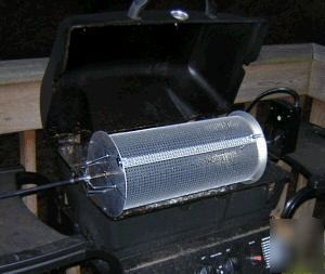 Make Your Own Peanut Roaster Drum for BBQ Grills