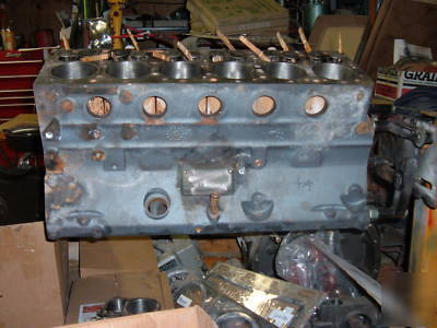 Continental Cylinder F Engine Short Block Pic No on Ford V4 Engine